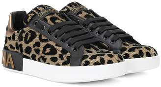 Dolce & Gabbana Leopard-print sneakers