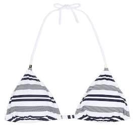 Heidi Klein Martha's Vineyard rope padded bikini top