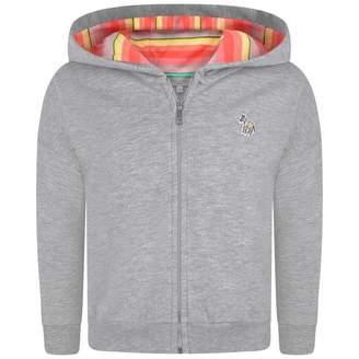 Paul Smith JuniorGirls Grey Shimmer Zip Up Top