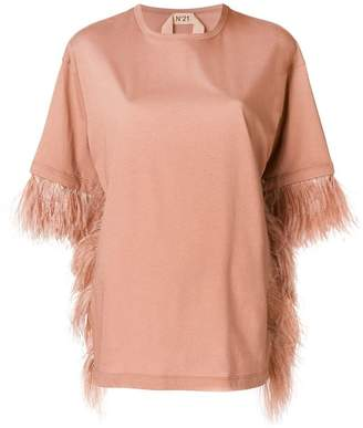 Pink sequins-embellished top N Outlet Fashionable Amazing AvAkA