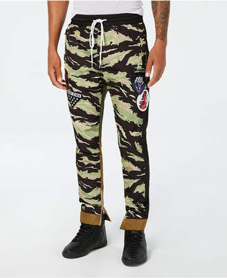 Reason Men Take Over Camo Colorblocked Track Pants