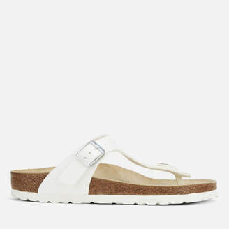 04a2cd0738c4 Birkenstock White Leather Sole Sandals For Women - ShopStyle UK