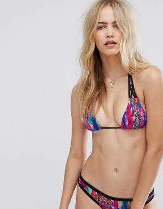 Seafolly Mexican Summer Slide Triangle Bikini Top