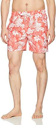Kanu Surf Men's Jake Floral Quick Dry Beach Volley Swim Trunk