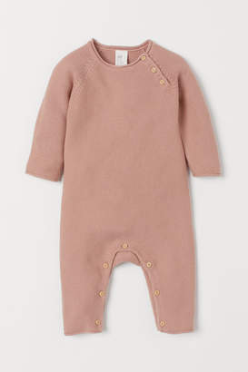 H&M Knit Cotton Overall - Orange