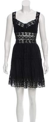 LoveShackFancy Virginia Crocheted Dress