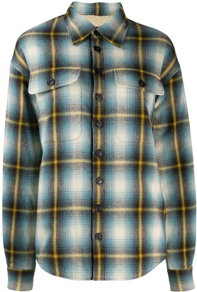 DSQUARED2 checked trucker shirt