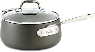 All-Clad HA1 Hard Anodized 3.5-Quart Nonstick Saucepan with Lid