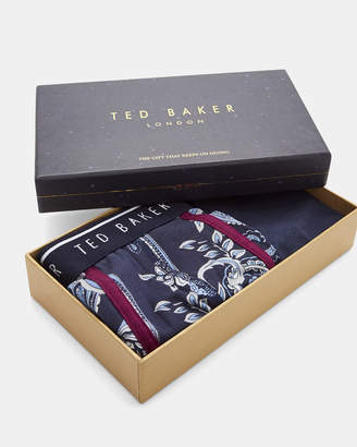 Ted Baker OUTLIMT Cotton boxer and sock gift set