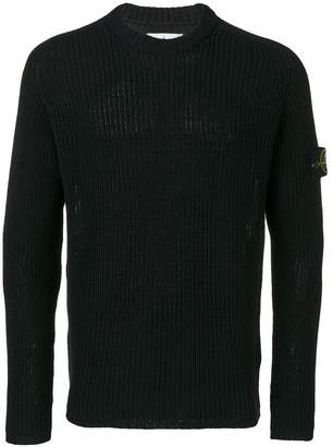 Stone Island chunky knit jumper