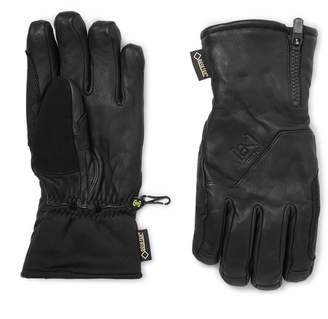 Burton Guide Leather, Gore-Tex And Stretch-Jersey Gloves