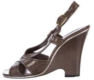 Marc Jacobs Patent Slingback Sandals
