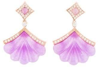 Angélique de Paris Eventail Earrings