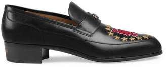 Gucci Leather loafer with LA AngelsTM patch