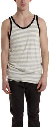 V::room Reverse Stripe Tank Top