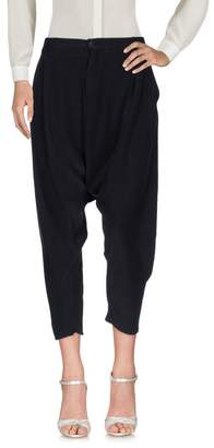 Superfine 3/4-length trousers