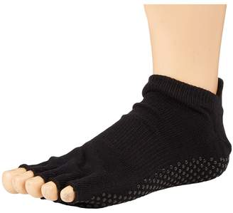 toesox Grip Half Toe Low Rise Women's Low Cut Socks Shoes