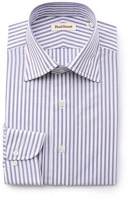 Paul Stuart (ポール スチュアート) - ポール・スチュアート メン ☆☆ハイツイストストライプ セミワイドカラードレスシャツ