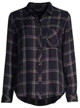 Rails Hunter Plaid Pocket Button-Down Shirt