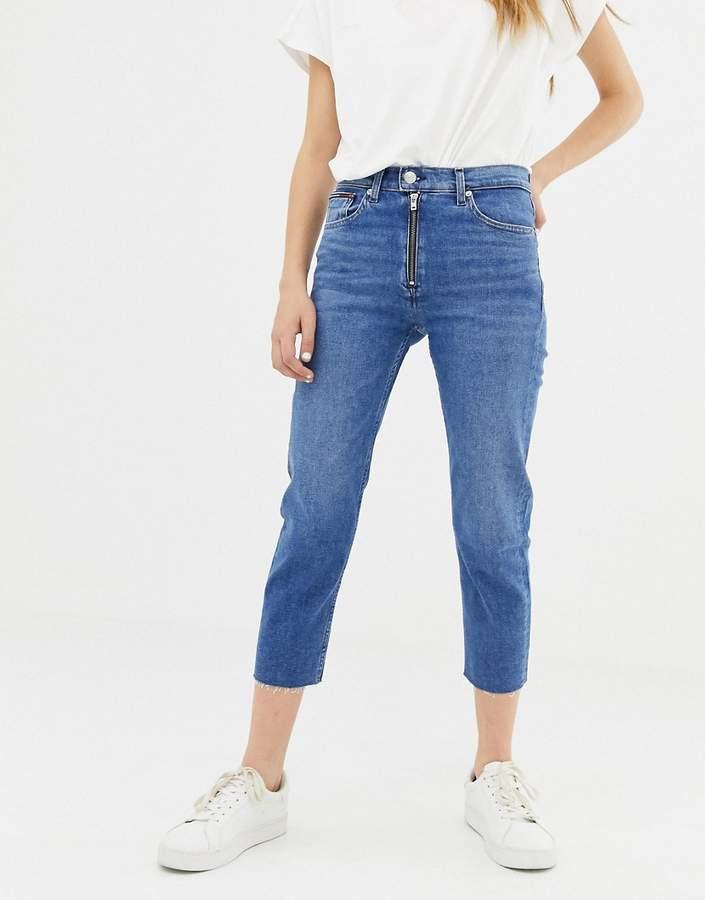 high waist izzy slim jean