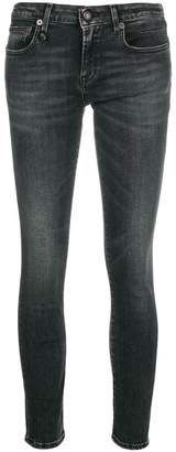 R 13 cropped skinny jeans