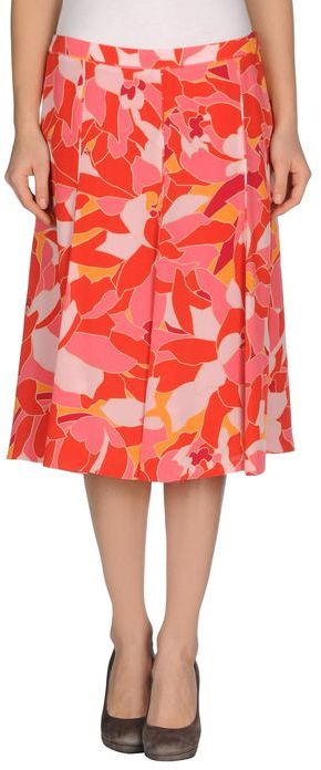 Rena Lange 3/4 length skirt