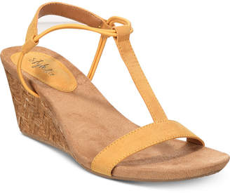 Style&Co. Style & Co Mulan Wedge Sandals, Created For Macy's Women's Shoes