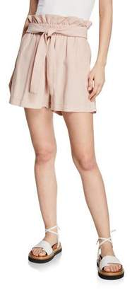 3.1 Phillip Lim Belted Paperbag Pull-On Shorts