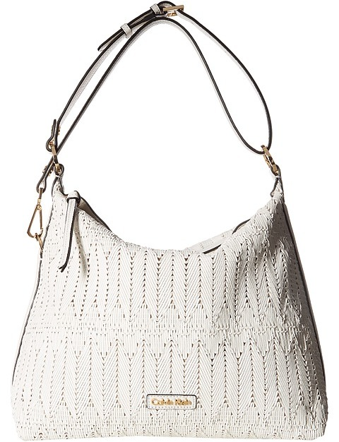 Calvin Klein Calvin Klein - Rattan Leather Hobo Bag Hobo Handbags
