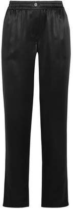 Dolce & Gabbana Silk-Satin Straight-Leg Pants