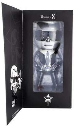 Karl Lagerfeld by Limited Edition Tokidoki X Silver Doll