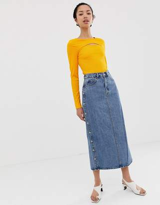 a6e8f37660 Mid Length Denim Skirts - ShopStyle Australia