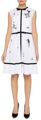 Ted Baker Iina Embroidered Windsor Gate Dress