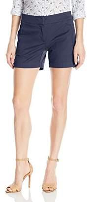"Nautica Women's Stretch Chino Twill Sailor 5"" Short"