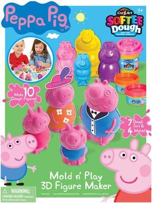 Peppa Pig Cra Z Art Mold N' Play 3D Figure Maker