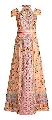 Alice + Olivia (アリス オリビア) - Alice + Olivia Alice + Olivia Women's Nidia Embellished Shoulder Cutout Dress - Size 0