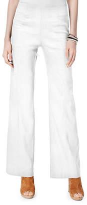 INC International Concepts Wide-Leg Linen Pants