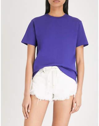 Mo&Co. Damn Young cotton-jersey T-shirt
