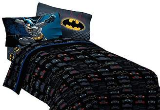 Warner Bros Batman Guardian Speed Microfiber Sheet Set
