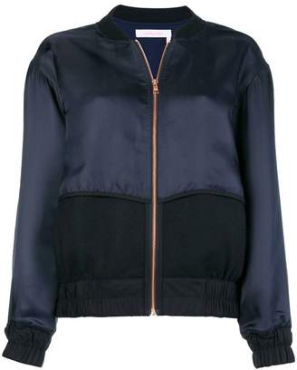 See by Chloe contrast bomber jacket