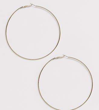 Liars & Lovers Exclusive extra large fine gold hoop earrings