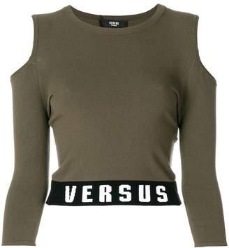 Versus cut-out T-shirt