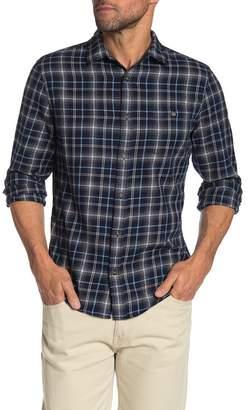 WALLIN & BROS Grindle Plaid Flannel Slim Fit Shirt