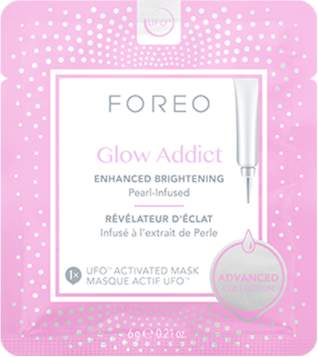 Foreo NEW Glow Addict - Brightening Face Mask 6 x 6g Womens Skin Care