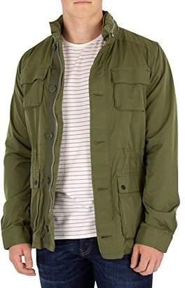 Scotch & Soda Men's AMS Blauw 4 Pocket Military Jacket