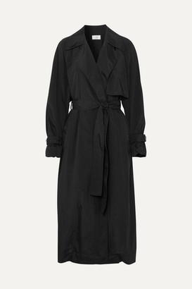 The Row Kareem Belted Shell Trench Coat - Black