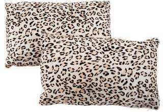 Pair of Ponyhair Lumbar Throw Pillows