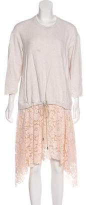 3.1 Phillip Lim Knee-Length Long Sleeve Dress