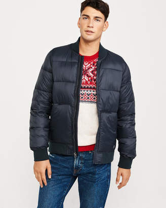 Abercrombie & Fitch Puffer Bomber Jacket