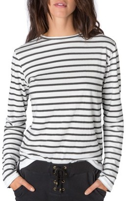 Women's Ragdoll Stripe Long Sleeve Tee $99 thestylecure.com